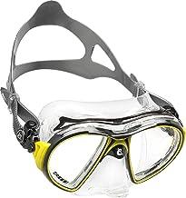 Máscara de Mergulho Silicone Air Crystal Cressi - Amarelo