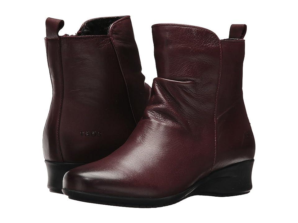 Taos Footwear Elite (Burgundy) Women