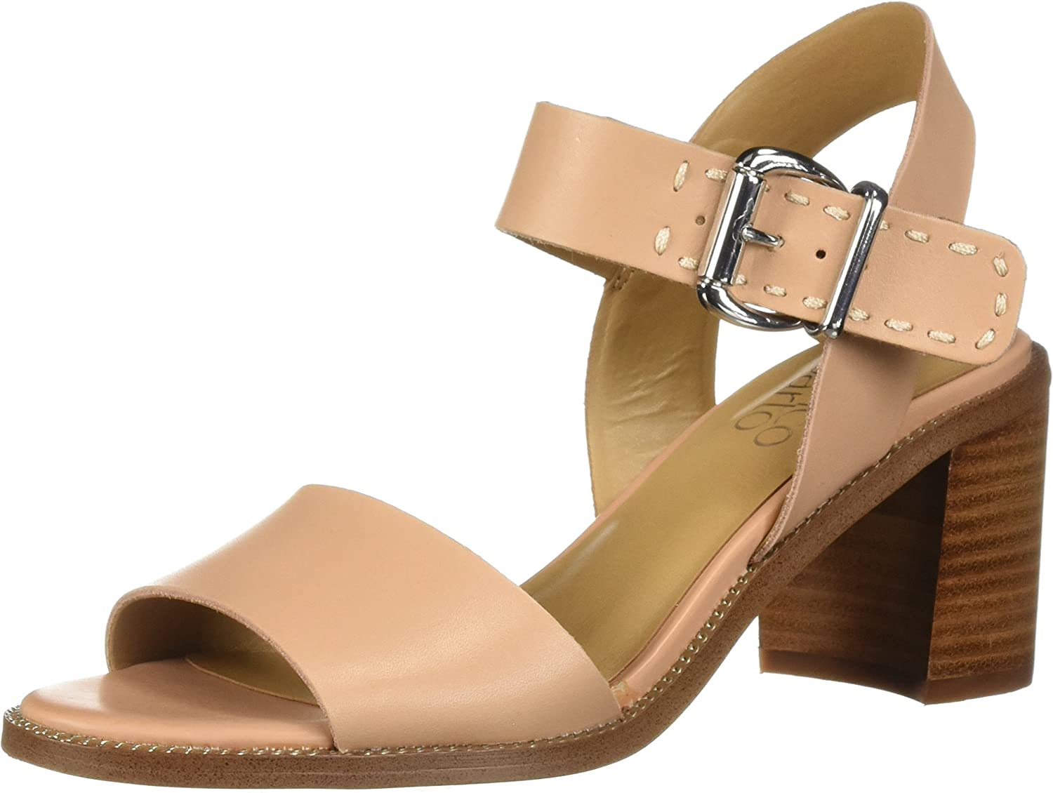Franco Sarto Damen Havana Sandalen mit Absatz, Milk Leather