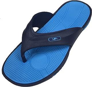 Shoe Shack Men's Premium Sandal Slipper Comfortable Shower Beach Shoe Slip On Flip Flop