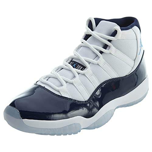 ae112125b543 White and Blue Jordans  Amazon.com