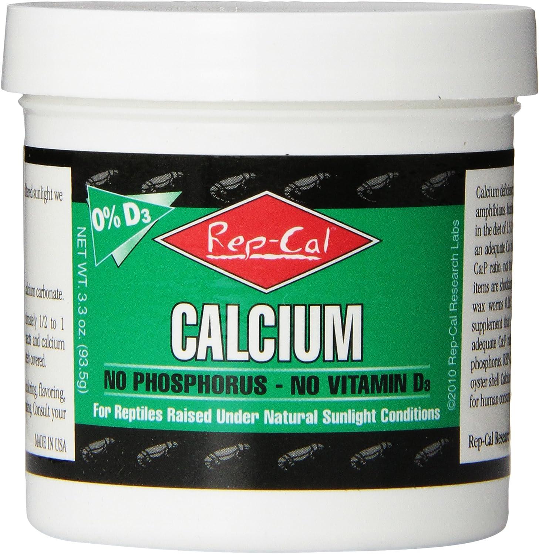 Rep-Cal Large discharge sale 52298 Phosphorous-Free Calcium Amphibian Reptile Powder 2021 new