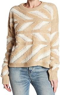John + Jenn Women Medium Marled Knit Arrow Sweater