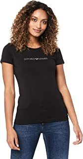 Emporio Armani Women's Ladies Knitted Short Sleeve T-Shirt