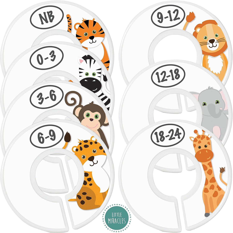 Baby Closet Size Dividers - Nursery Low price Ranking TOP16 Safari 7X fo