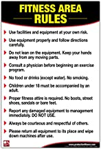 gym health and safety rules