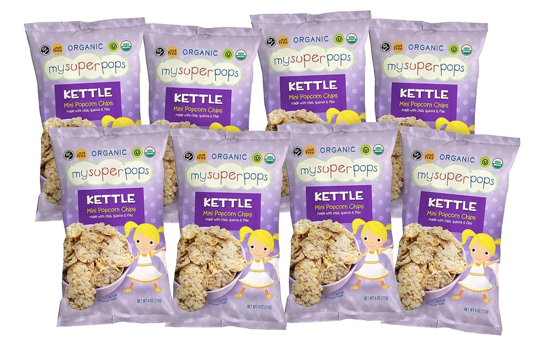MySuperPops Kettle Mini New life Popcorn Chips Gluten Popular brand Free Organic Nut