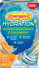 Emergen-C Hydration 18 Count Orange Spritz Flavor Sports Drink Mix with Vitamin C Electrolyte Replenishment 0 34 Ounce Packets Estimated Price : £ 34,97