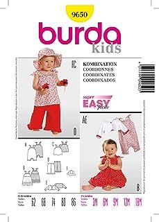 Burda 9650 Combi Size 62–86 M-18 (Sizes 3 M)