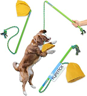 Pet Qwerks Tug & Toss Dog Toys - Tough, Durable, Interactive Toy | Best for Tug of War, Exercise, Fetch & Puppy Training! | Safe & Strong for for Small to Large Dogs and Puppies