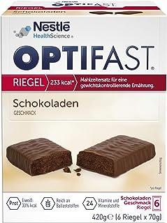 OPTIFAST Barritas Chocolate. Estuche de 6 barritas de 65g ca