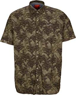 S.Oliver Big Size Hemd Kurzarm Regular Fit Camisa para Hombre