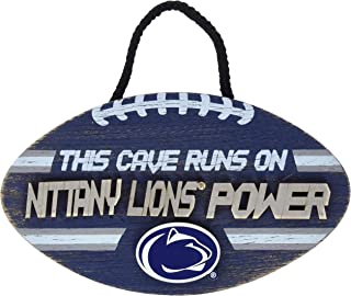 NCAA Penn State Nittany Lions Unisex Football SIGNFOOTBALL Sign, Team Color, OS