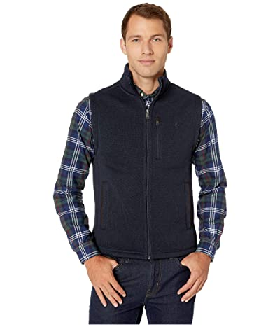 Polo Ralph Lauren Sweater Fleece Vest (Winter Navy Heather) Men
