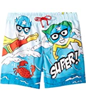 Dolce & Gabbana Kids - D&G Sea Swim Trunks (Little Kids)