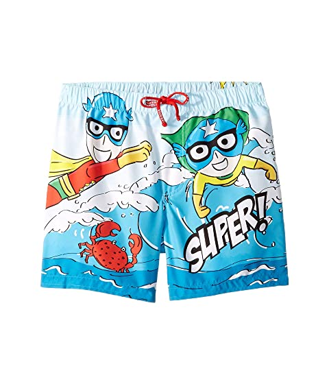 Dolce & Gabbana Kids D&G Sea Swim Trunks (Little Kids)