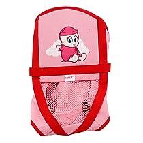 Farlin Adjustable Baby Front and Back Hold Cuddler (Pink)