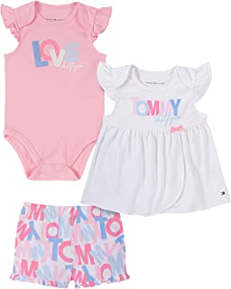 Baby Girls' 3 Pieces Shorts Set