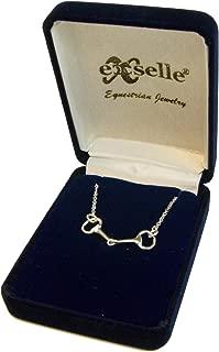 Exselle Snaffle Bit Necklace