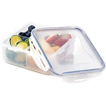 Lock/&Lock Bisfree Modular Food Storage Sealed Container 37.1 oz Microwave Safe
