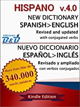 New Dictionary HISPANO Spanish-English v.4.0 (English Edition)