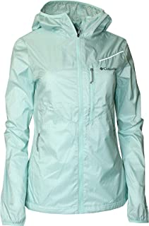 Columbia Women's Davis Path Omni-Wick Light Hooded Jacket - Multicoloured - Small Mint