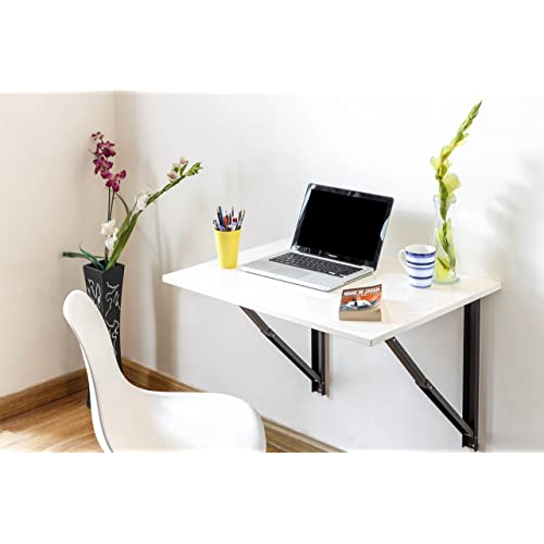 39f9a7d10 INVISIBLE BED Folding Wall Mounted Study Computer Laptop Office Table  (Glossy white