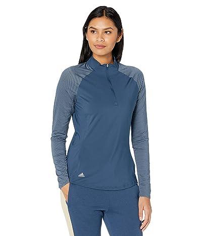 adidas Golf UV Primegreen Long Sleeve Polo Shirt