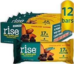 Rise Bar Rise Protein Bar Crunchy Carob Chip 12 bars Estimated Price : £ 48,35