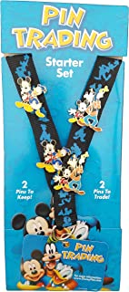 Disney Pins - Friends Are Forever - Starter Lanyard Set - Pin 46002, Small