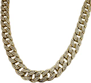 BLINGFACTORY Hip HOP Luxury Full ICED LAB Diamonds 18