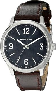 リップカール Rip Curl Men's A2858-NAV Flyer II Analog Display Analog Quartz Brown Watch [並行輸入品]