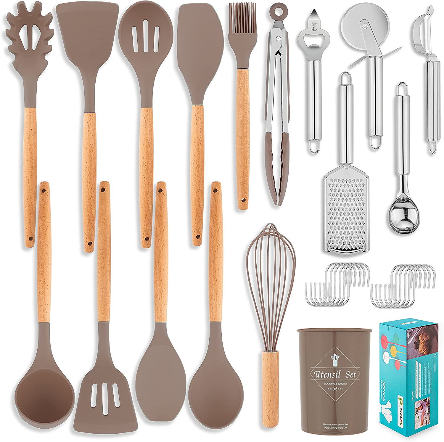 29Pcs Silicone trust Cooking Kitchen Max 71% OFF Sets Utensils Set Utensil