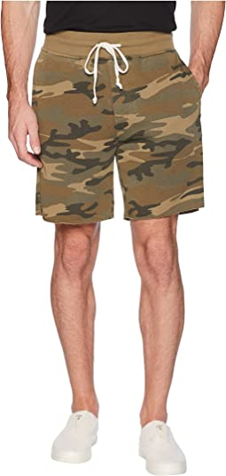 Burnout French Terry Raw Edge Campus Shorts