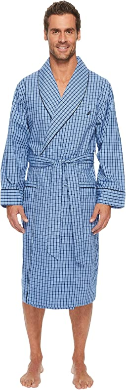 Plaid Lounge Robe