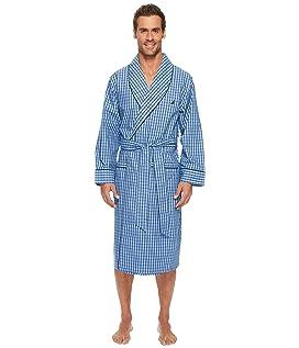 Plaid Lounge Robe