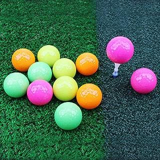 Crestgolf Crystal Golf Balls Practice Golf Ball Mixed Color (One Dozen)