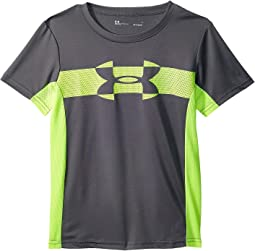 Under Armour Kids Mesh Logo Tech Short Sleeve Tee (Little Kids/Big Kids)