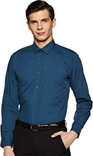 Peter England Men's Slim fit Formal Shirt