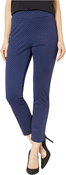 Polka Dot Knit Compression Pants