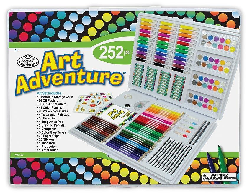 確率ピボット喪Royal Brush AVS-535 252 Piece Art Adventure Art Set, Multicolor by Royal Brush Manufacturing Company