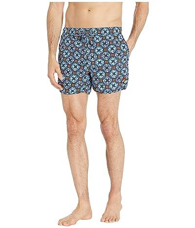 Scotch & Soda Shorter Length Sporty Swim Shorts with All Over Print (Combo A) Men