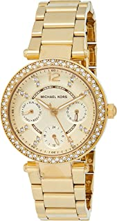 Michael Kors Parker Women's Dial Stainless Steel Band Watch - MK6056