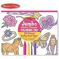 Melissa & Doug Princess & Fairy Jumbo Coloring Pad