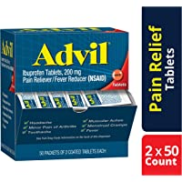 Advil Coated Tablets Pain Reliever and Fever Reducer