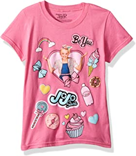 Nickelodeon Little Girls' JoJo Siwa Sweets Short Sleeve T-Shirt