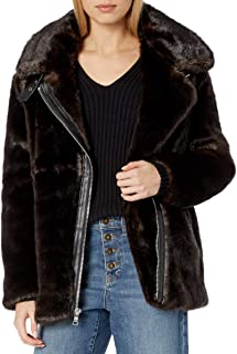 Women's Faux Mink Jacket