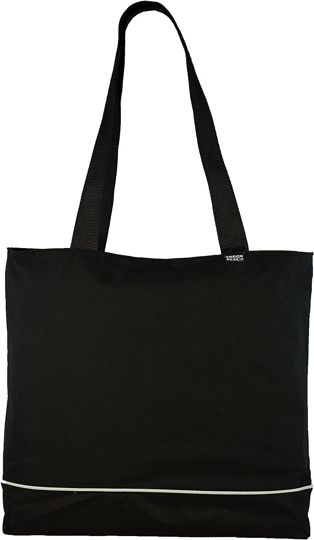 Shoulder Tote Bag with Zipper