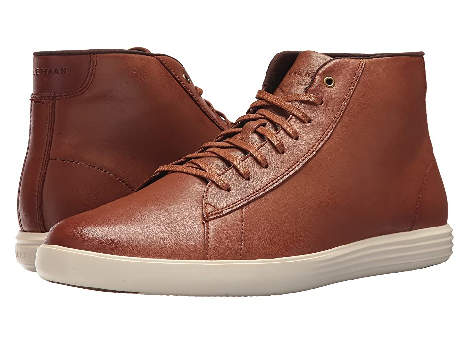 Cole Haan Grand Crosscourt High Top (Woodbury Leather) Men