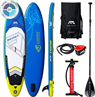 comprar comparacion Aqua Marina Beast Advanced All-Around Isup, Adultos Unisex, Blue, Uni
